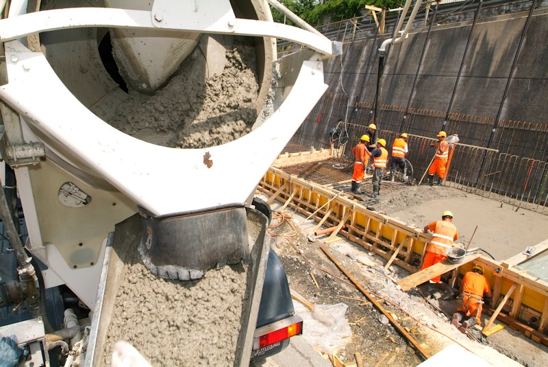 concrete pumping contractor bc